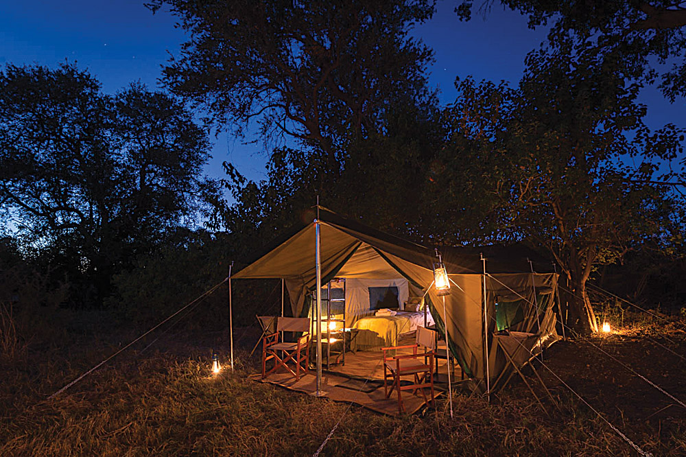 Tented Accommodation in Botswana