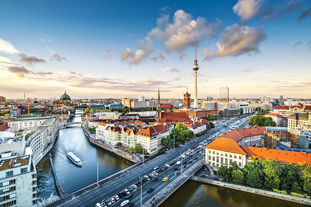 Berlin Skyline, Germany