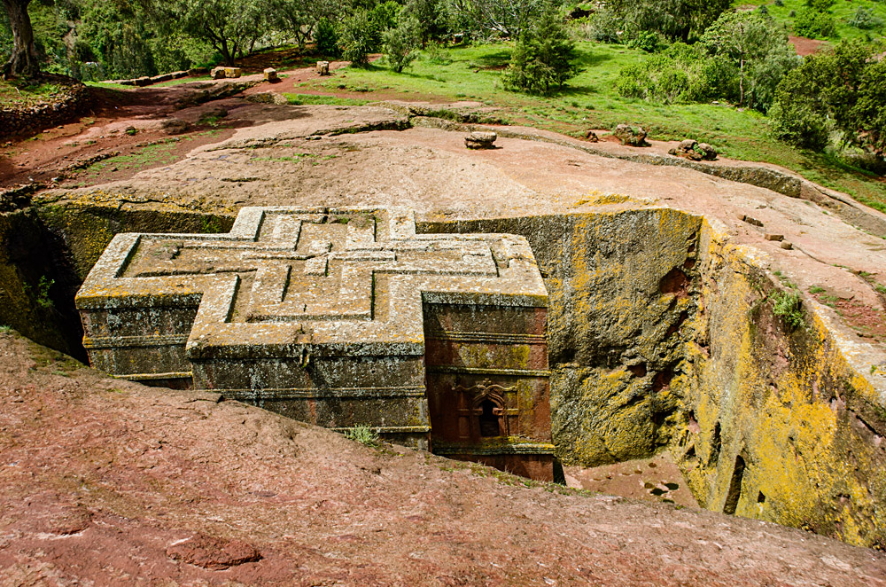 Church of Saint George in Lalibela, Ethiopia