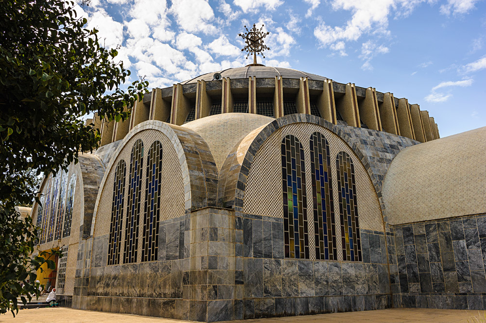 Dome of the Church of Our Lady Mary of Zion, Aksum, Ethiopia