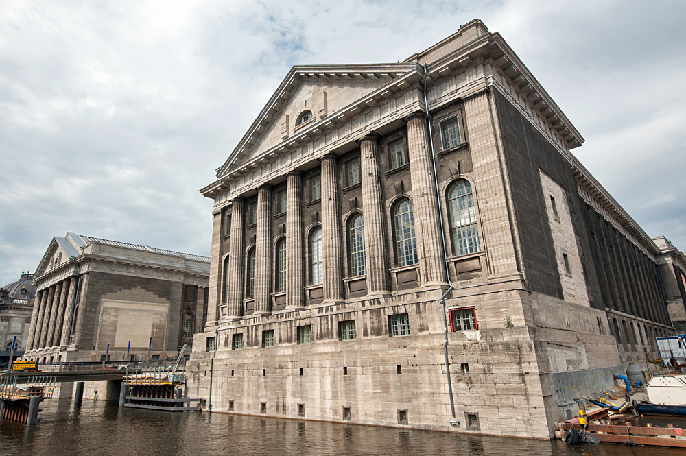 Facade of the Pergammon Museum in Berlin, Germany