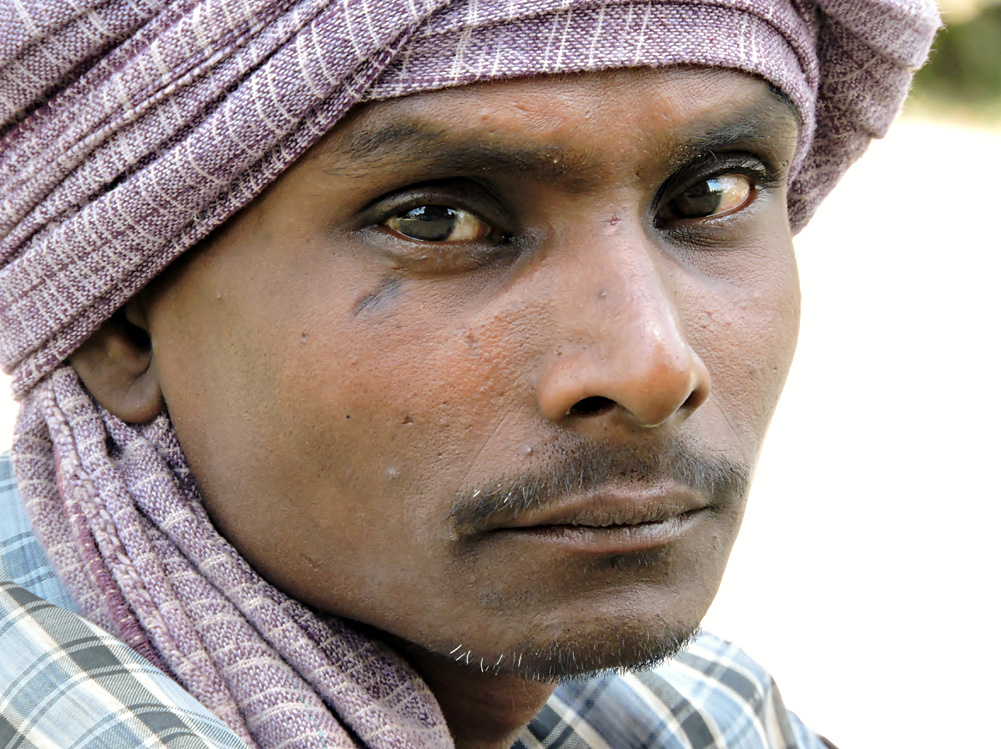 Haunting Eyes of Varanasi, India