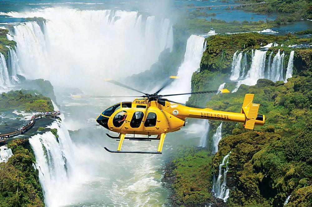 Iguassu Falls Helicopter Tour, Brazil Argentina