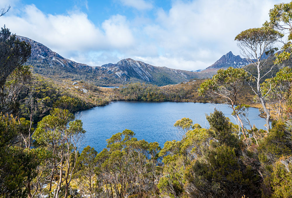Nature and Wilderness of Cradle Mountain National Park in Tasmania, Australia