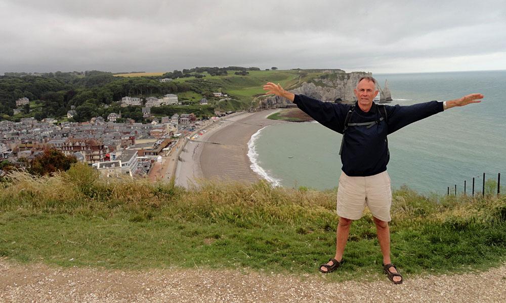 Steve Martin - Steve in Etretat, Normandy, France