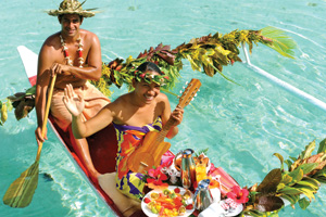 TAHITI Canoe Breakfast