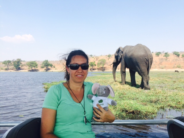 Thandi and Melanie in Chobe
