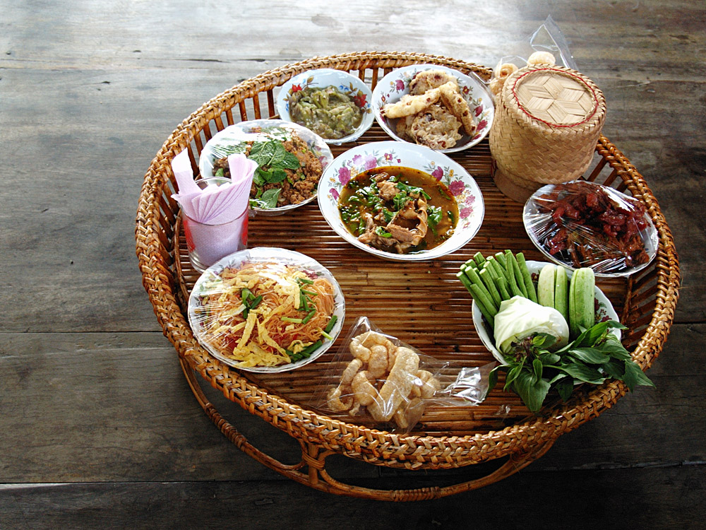 Typical Khantoke Dinner Found in Northern Thailand