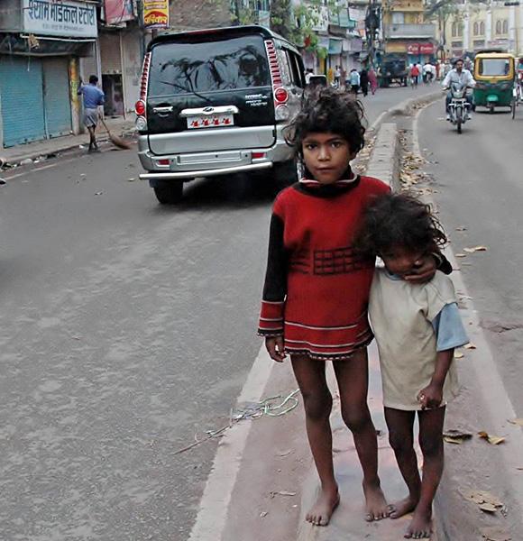 Varanasi Street Kids, India