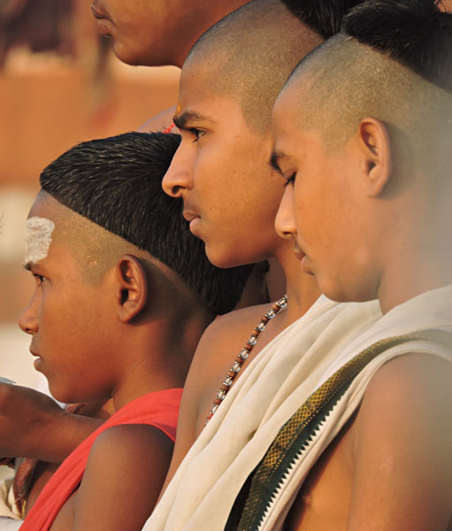 Young Brahmin Priests, India