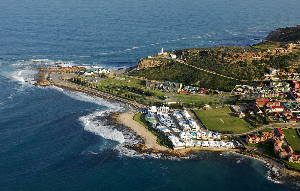 Aerial View of Mossel Bay, South Africa