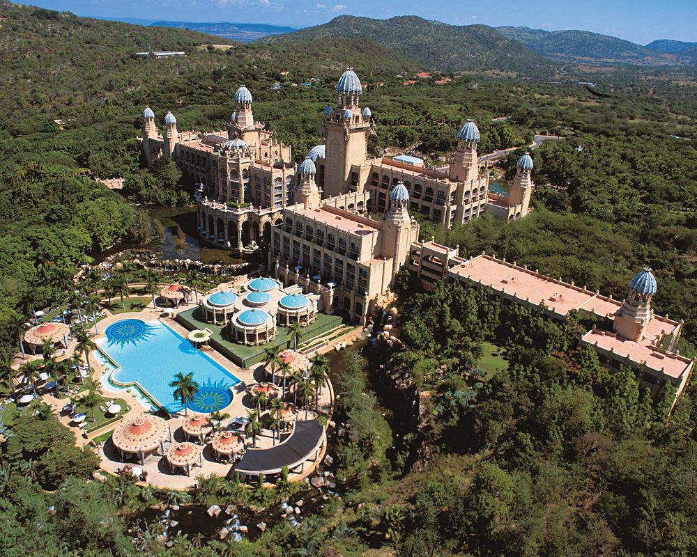 Aerial View of Palace of the Lost City Stay of Distinction, Sun City, South Africa