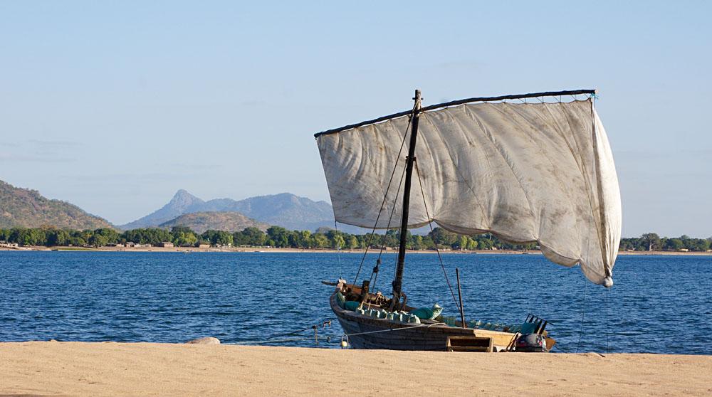 Akke Bos - Dhow on Lake Malawi
