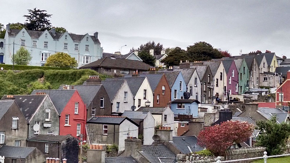 Anthony Saba - Colourful Houses of Cobh, Ireland