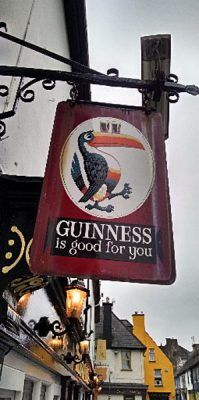 Anthony Saba - Guinness Pub Sign, Ireland