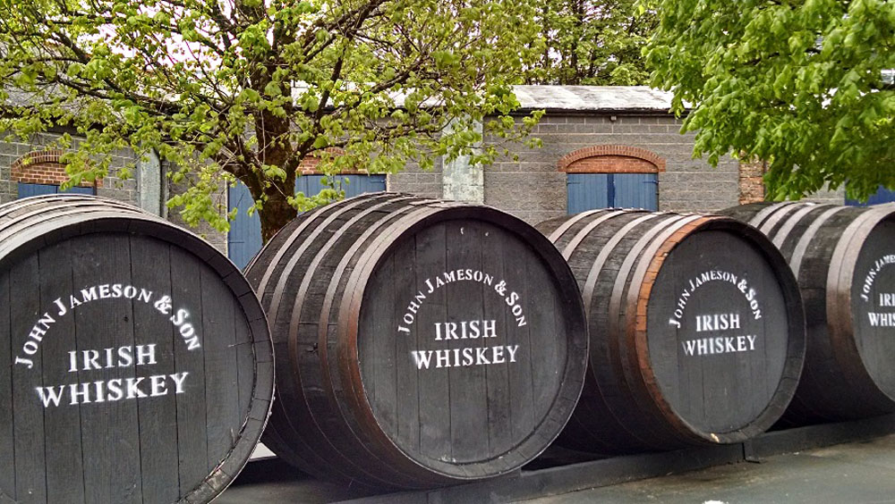 Anthony Saba - Jameson Distillery in Midleton, County Cork, Ireland