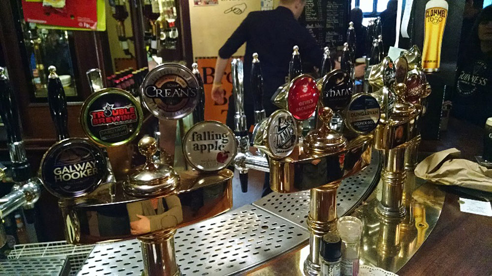 Anthony Saba - See What's on Tap at a Local Pub, Ireland