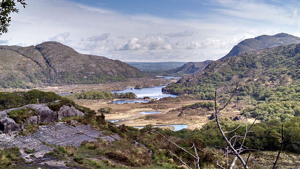 Anthony Saba - View from Ladies View Lookout Along the Ring of Kerry, Ireland
