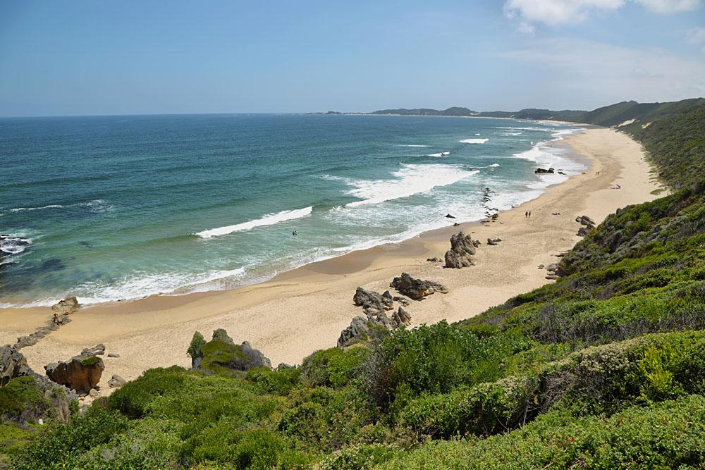 Brenton-on-Sea Main Beach Near Kynysna, South Africa
