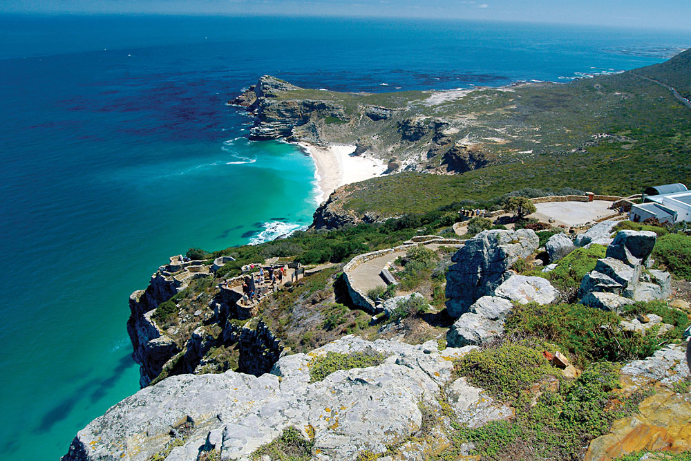 Cape Point at Cape of Good Hope, Cape Town, South Africa