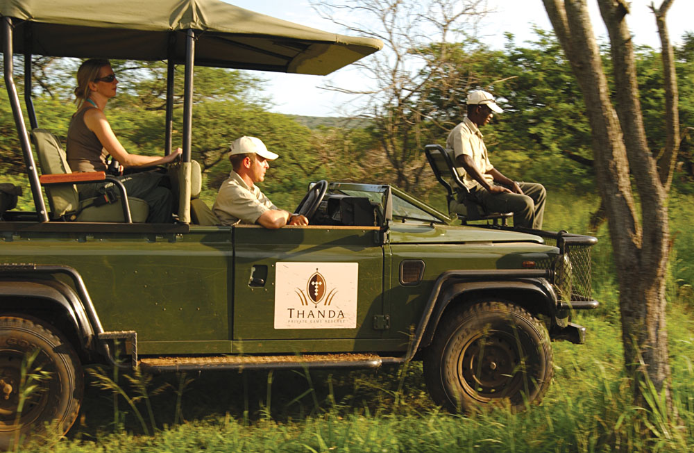Game Drive in Thanda Private Game Reserve, Zululand, KwaZulu-Natal, South Africa