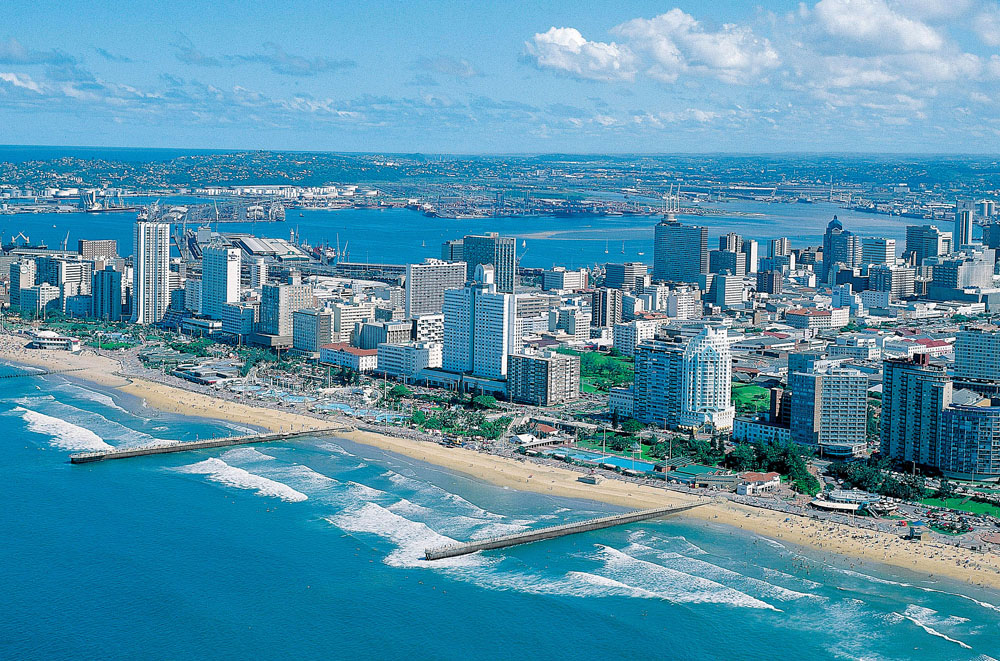 Golden Mile in Durban, South Africa