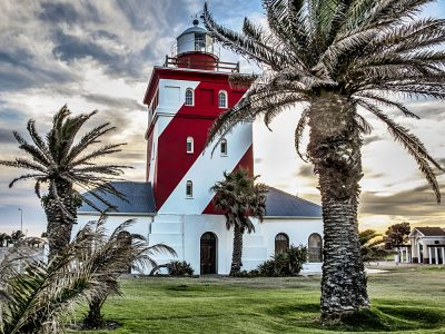 Green Point Lighthouse in Cape Town, South Africa