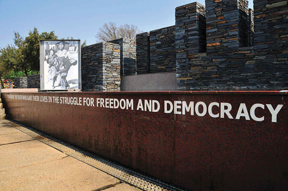 Hector Pieterson Museum in Soweto near Johannesburg, South Africa