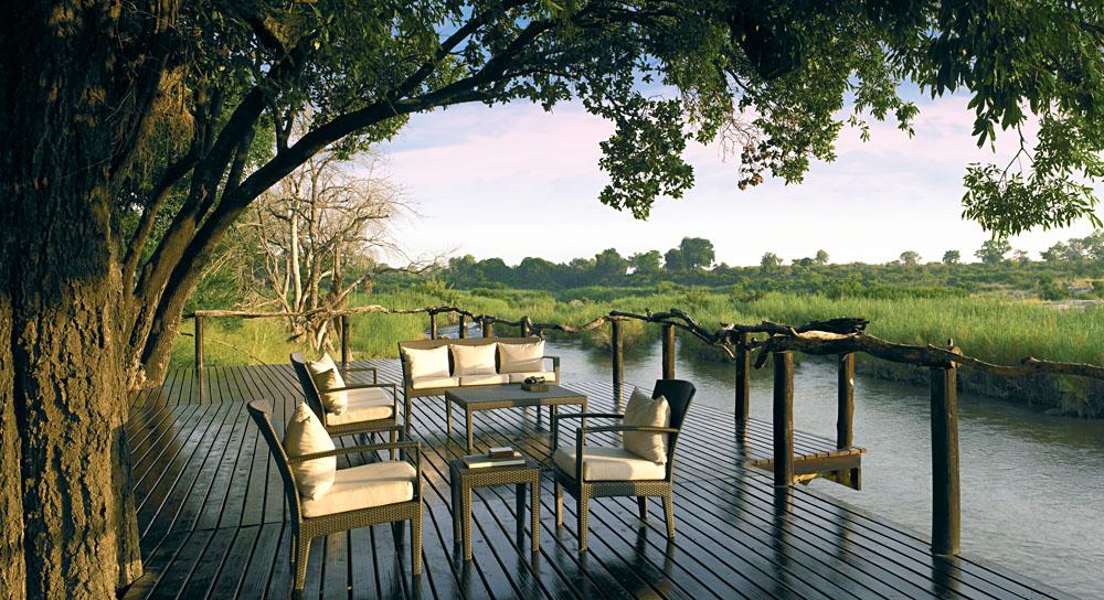 Lion Sands River Lodge - Private Viewing Deck, Sabi Sands, Kruger National Park, South Africa