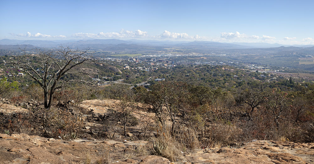 Nelspruit City Panorama, Mpumalanga, South Africa