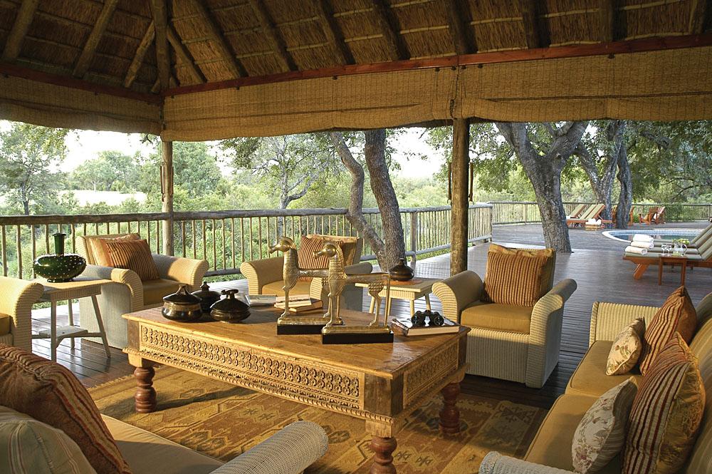 Sabi Sabi Bush Lodge - Deck, Sabi Sands, Kruger National Park, South Africa