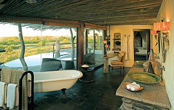 Singita Boulders - Suite Bathroom, Sabi Sands, Kruger National Park, South Africa