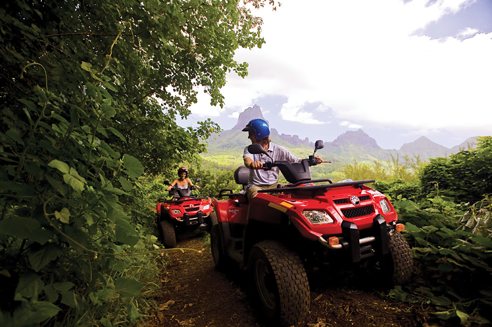 ATV Excursion in Bora Bora, Tahiti