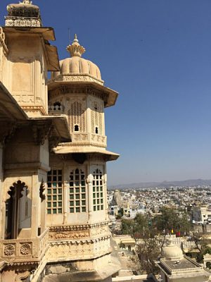 Amelia Chee - View from City Palace in Udaipur, India