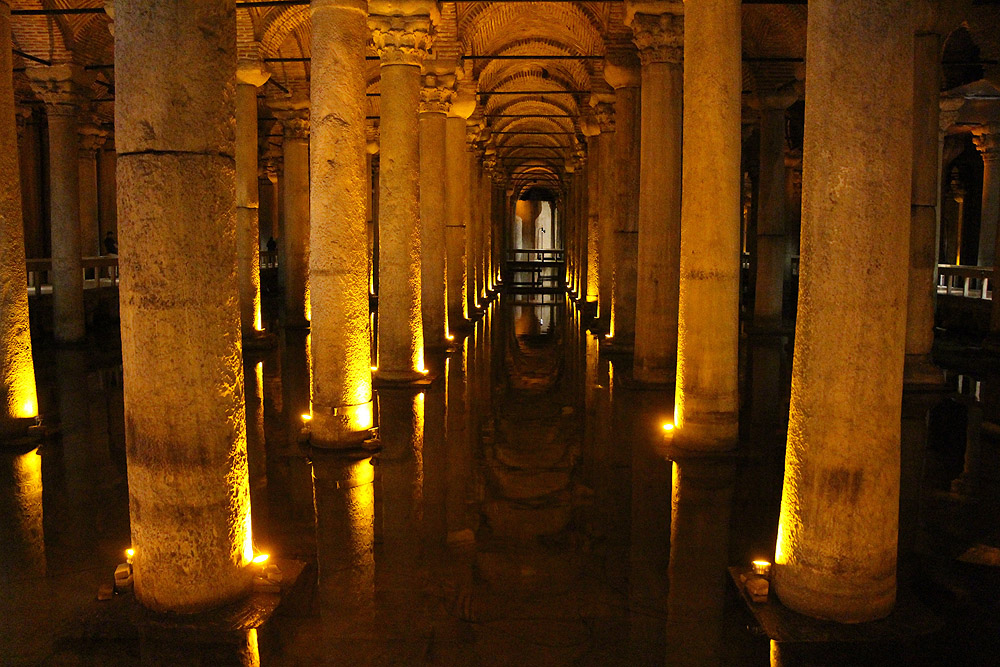 Basilica Cistern Istanbul Turkey - Istanbul Vacation
