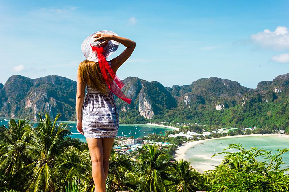 Beautiful Phi Phi Islands in Thailand