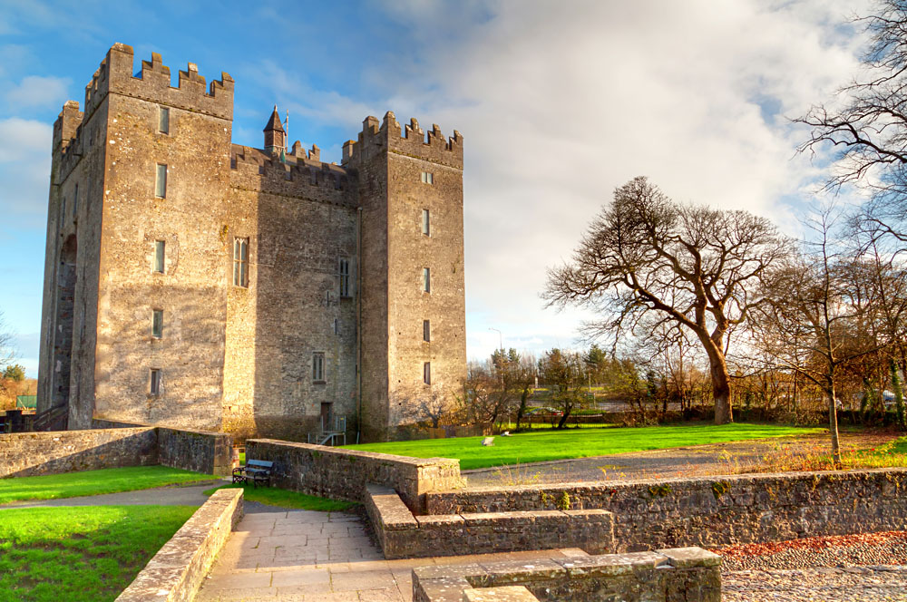 Bunratty Castle in County Clare, Ireland