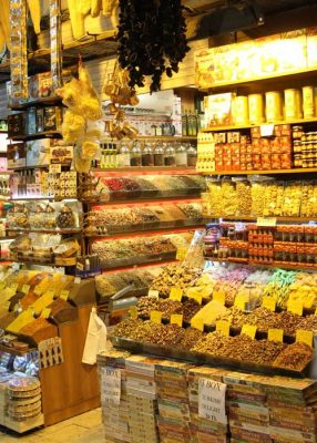 Grand Bazaar Spices, Istantbul Turkey - Istanbul Vacation
