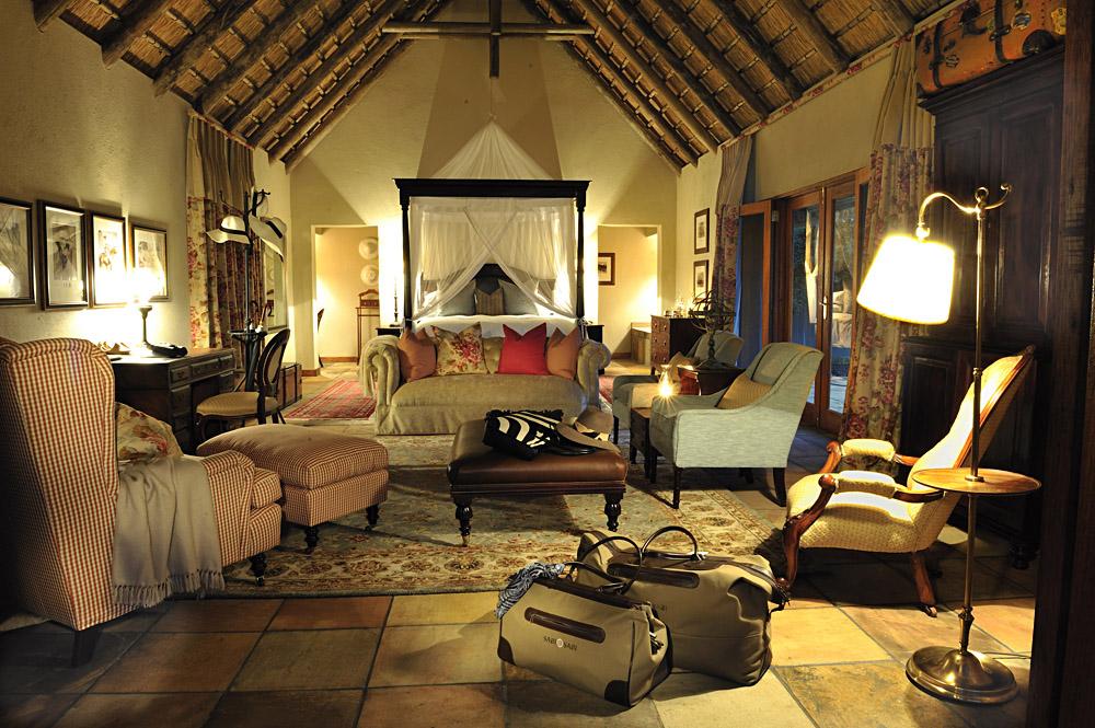 Selati Camp Ivory Suite at Sabi Sabi Private Game Reserve in Sabi Sands, Kruger National Park, South Africa