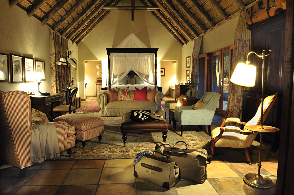 Selati Camp Ivory Suite at Sabi Sabi Private Game Reserve in Sabi Sands, Kruger National Park, South Africa