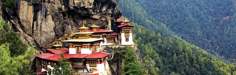 Tigers Nest Monastery in Paro, Bhutan