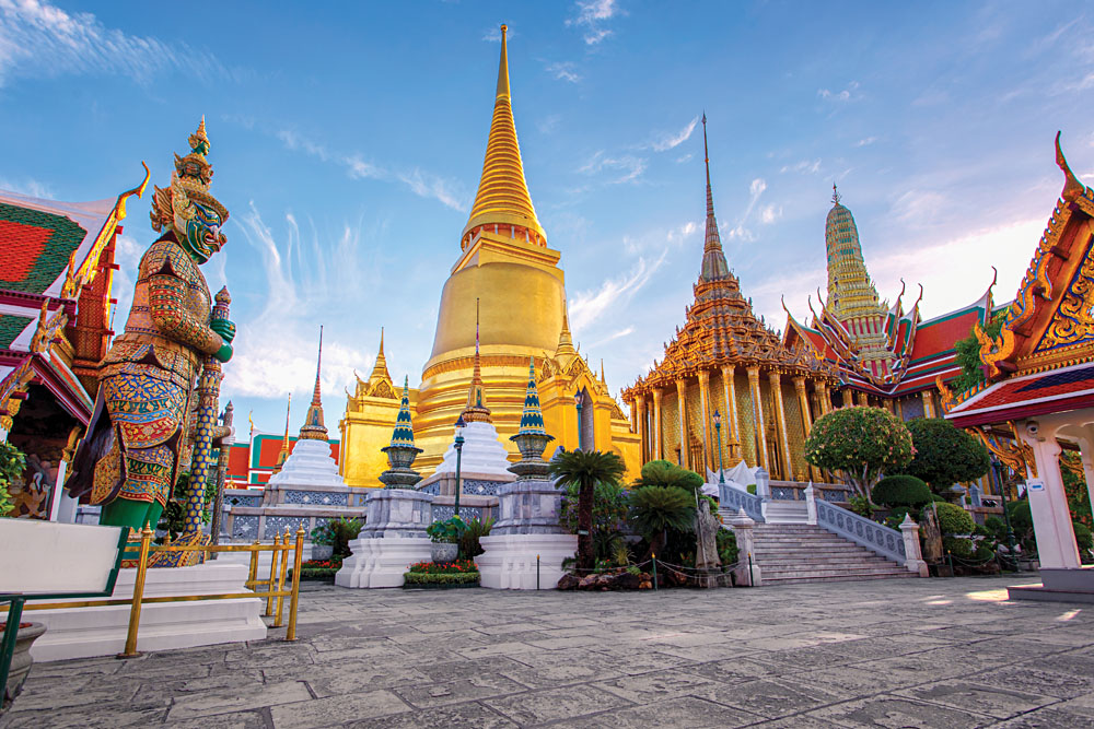 t Phra Kaew Ancient Temple in Bangkok, Thailand