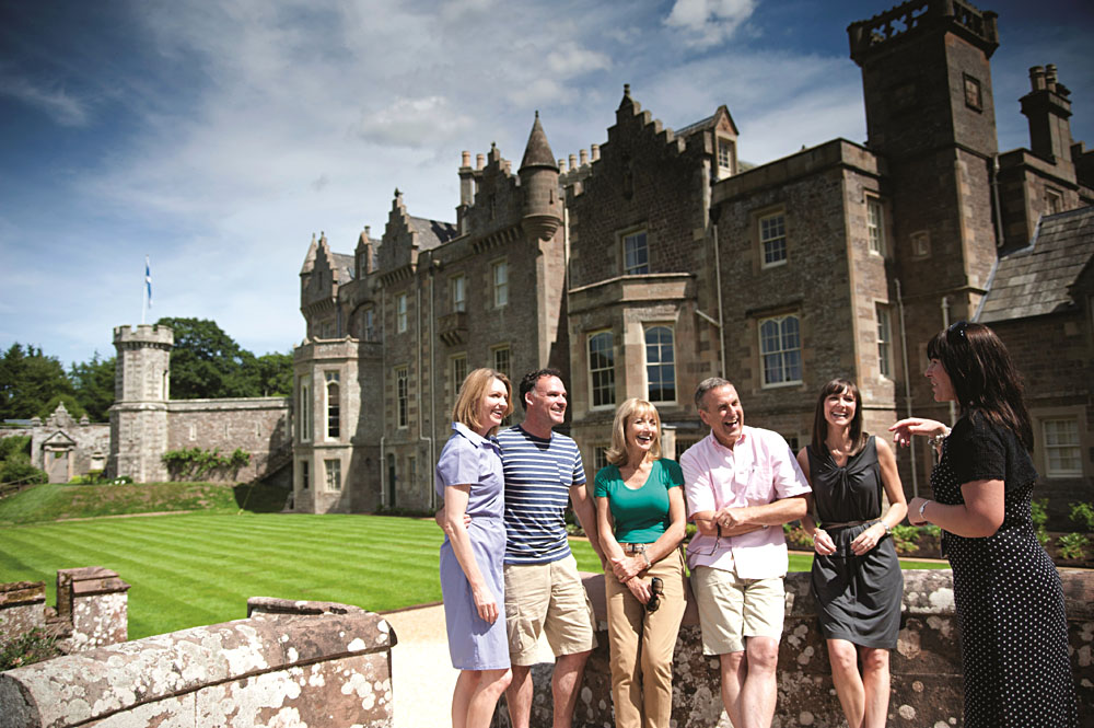 Back-Roads Small Group and Tour Guide at Castle