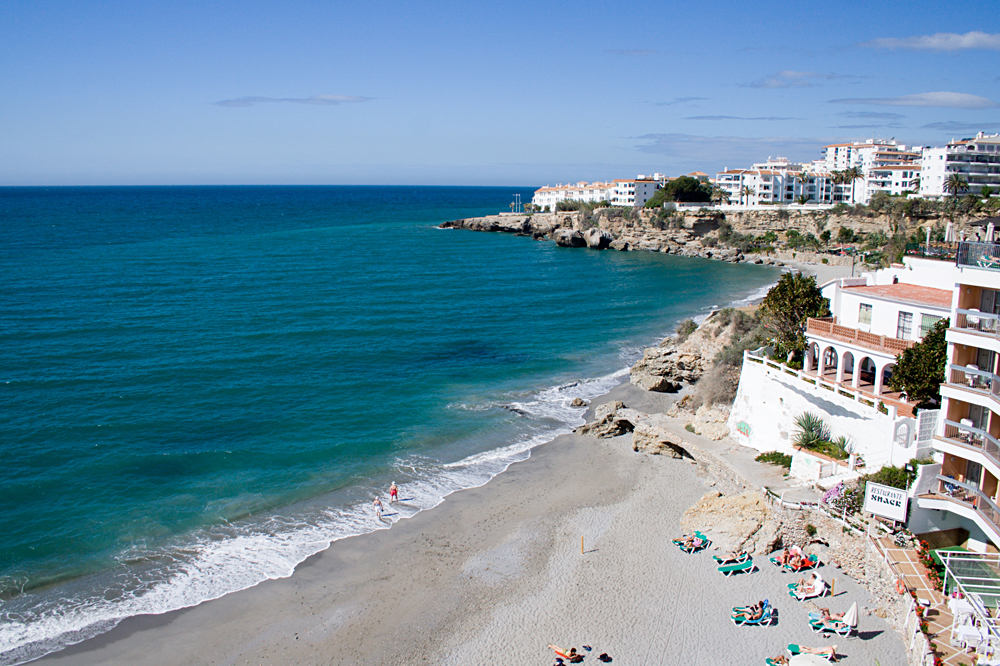 Beaches of Costa del Sol, Spain