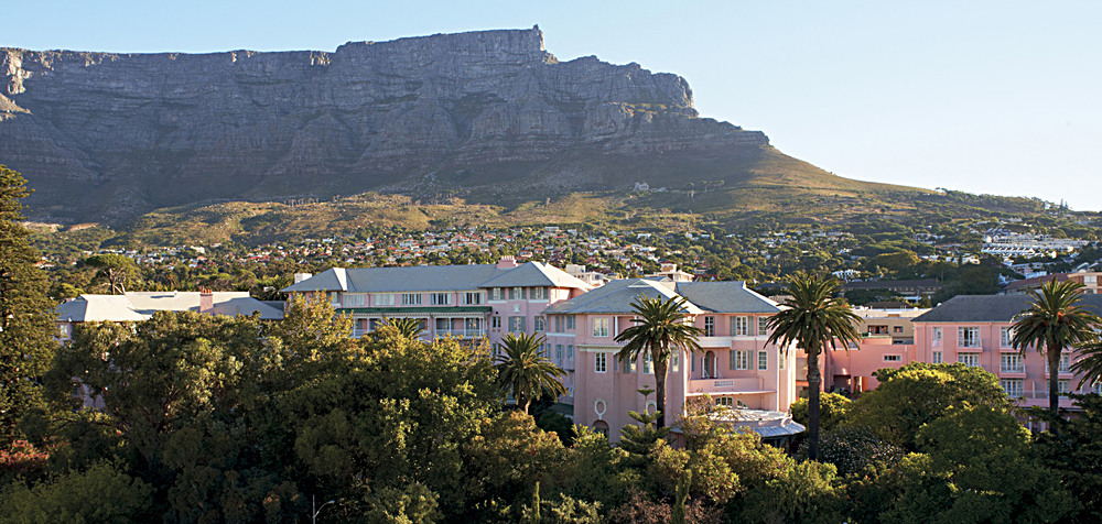 Belmond Mount Nelson Hotel Exterior in Cape Town, South Africa