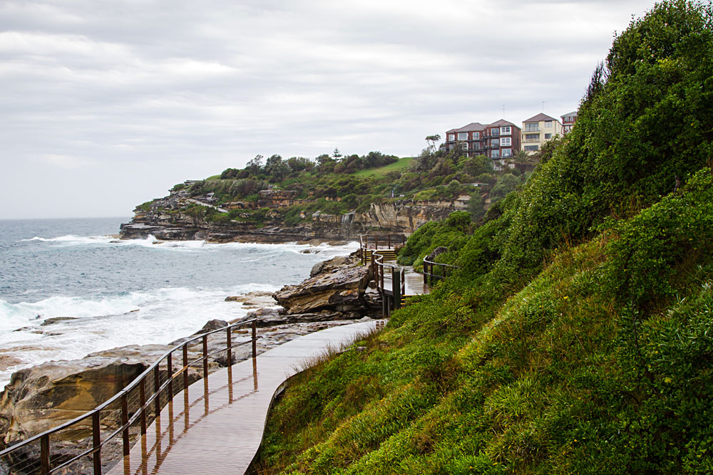 Bondi Beach to Bronte Coastal Walk, Sydney, Australia