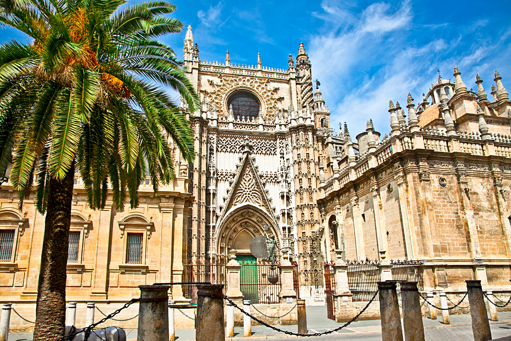 Cathedral of Saint Mary in Seville, Spain