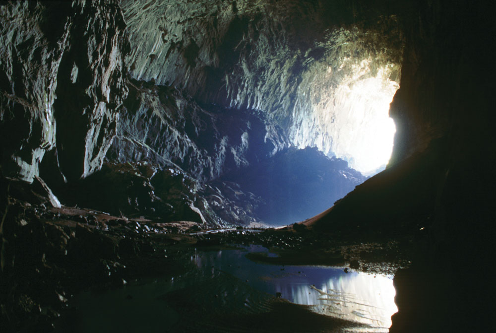 Deer Cave in Mulu National Park, Sarawak, Malaysia (Borneo)