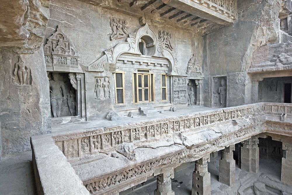 Ellora Caves in Aurangabad, India