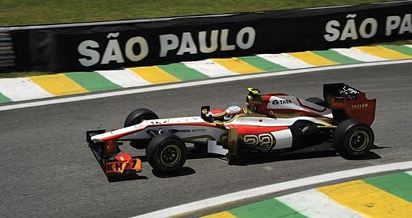 Formula 1 Race Car, Sao Paulo, Brazil